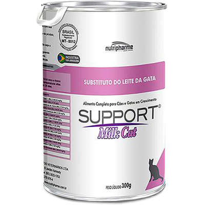 Alimento Completo para Gatos Support Milk Cat Nutripharme 300G