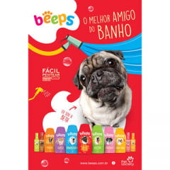 Deo Colônia Beeps Body Splash Pet Society Merengue de Morango 120ML