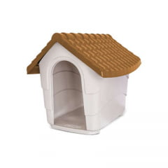 Casa Plast Pet House - Marrom