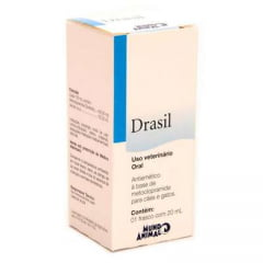 Antiemético Mundo Animal Drasil - 20 mL