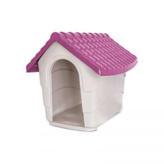Casa Plast Pet House - Rosa