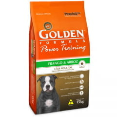 Ração Premier Golden Power Training Cães Adultos Frango e Arroz - 15 Kg