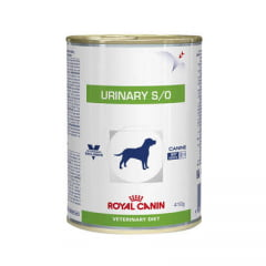 Ração Royal Canin Lata Canine Veterinary Diet Urinary S/O