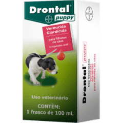 Vermífugo Drontal Puppy - 100ML