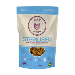 Petisco Luopet Cat Menu Sterilised 40G